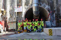 Exkurze na metro Praha - tunelovací stroj Adéla